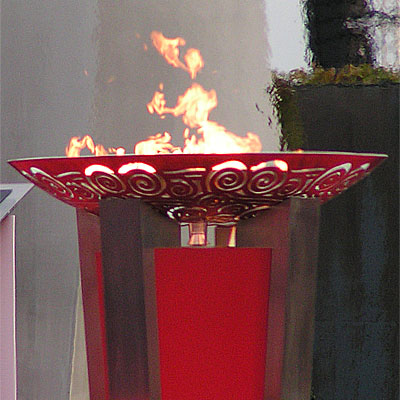 the olympic fire