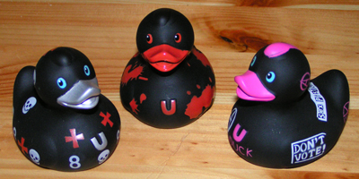 Rebel Rubber Ducks
