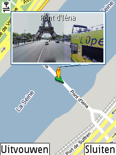 Google Maps Street View on Nokia N73