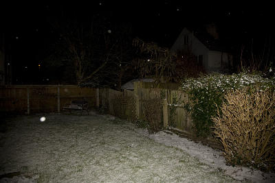 nightly snow in the UK